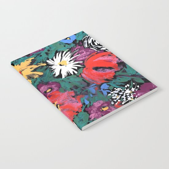 Redon floral Notebook