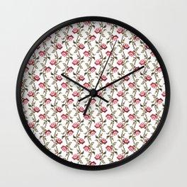 Maison & Jardin - Roses Wall Clock