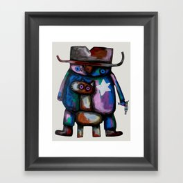 Sheriff Framed Art Print