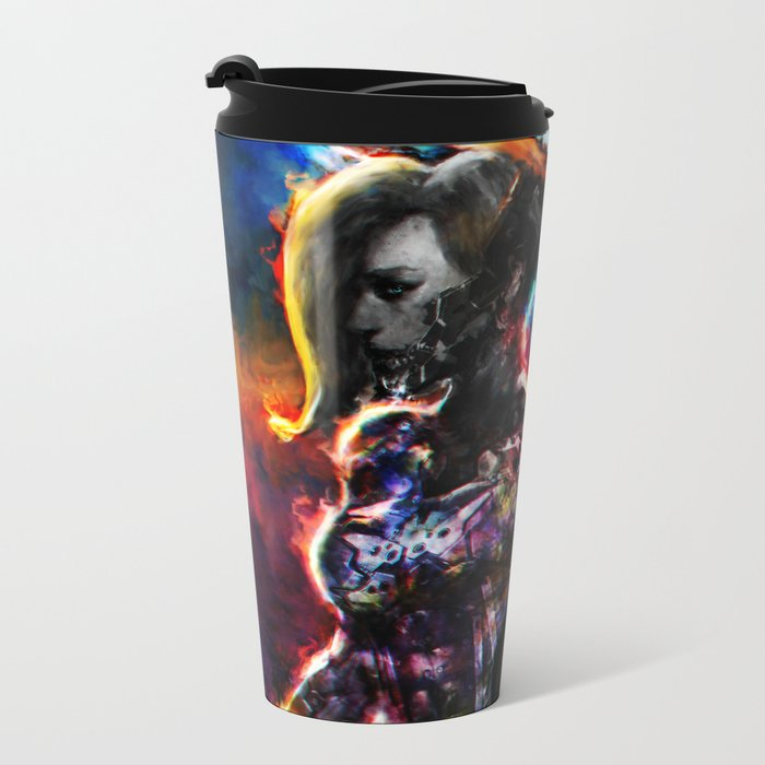 metal angel Metal Travel Mug