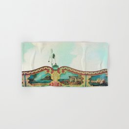 Summer Carousel Hand & Bath Towel