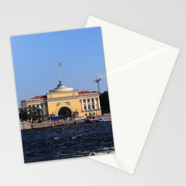 Facade Admiralty building Stationery Cards