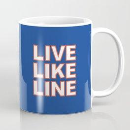 LIVE LIKE LINE Volleyball Coffee Mug