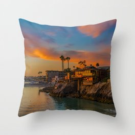 The House at Pirate's Cove Throw Pillow