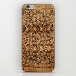 Antique Persian Malayer Rug iPhone Skin