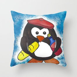 Norm's Midnight Snack Throw Pillow
