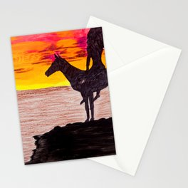 Red Sky at Night, a Chiefs Delight Stationery Cards