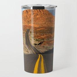 Valley of Fire Travel Mug