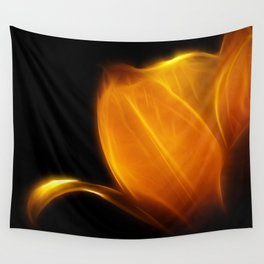 Fireblossom Wall Tapestry