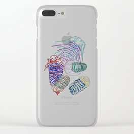 Silurian and Devonian Era Trilobites 2 Clear iPhone Case