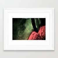 lip Framed Art Prints featuring Lip by Shadoe Leibelt