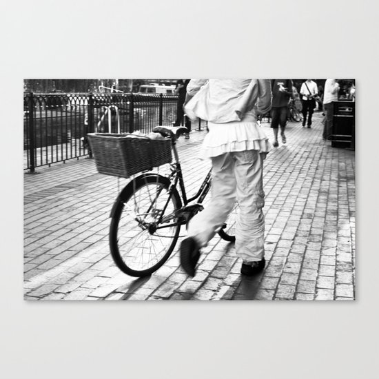 Ease Canvas Print