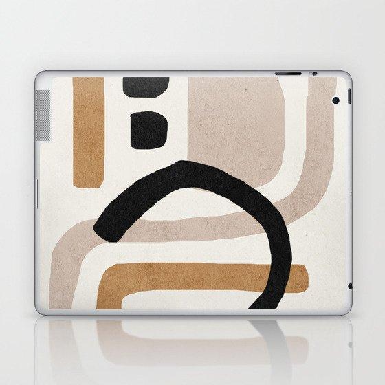 Abstract shapes art, Mid century modern art Laptop & iPad Skin