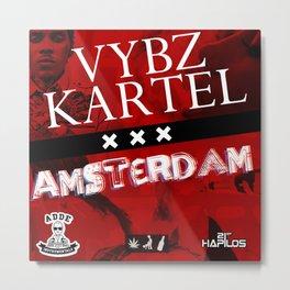 Vybz Kartel - Amsterdam EP Metal Print
