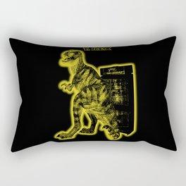 Electric Warriosaurus Rectangular Pillow