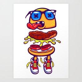 flat food Art Print