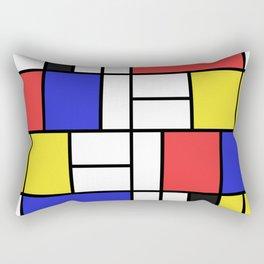 Mondrian Rectangular Pillow