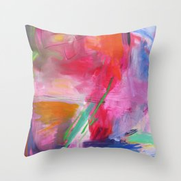 Uluru Throw Pillow