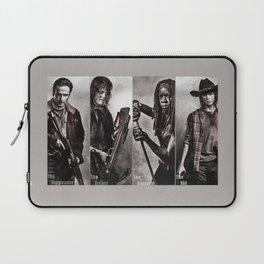 The Walking Dead - Rick Daryl Michonne Carl  Laptop Sleeve