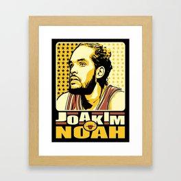 Joakim Noah Framed Art Print