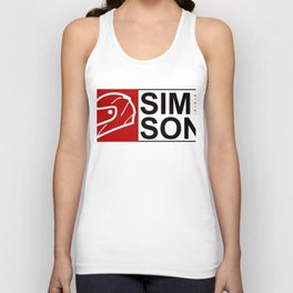 Simson Moped Biker Lover Poison T-Shirt Unisex Tank Top