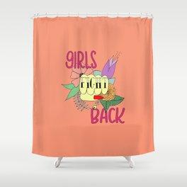 Girls fight back - Vampire palette Shower Curtain