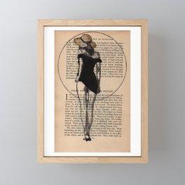 Licorice Framed Mini Art Print