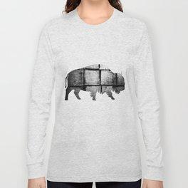 Buffalo (The Living Things Series)  Long Sleeve T-shirt
