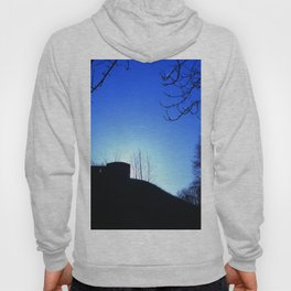 Castle Ruins under the Fading Sun Hoody