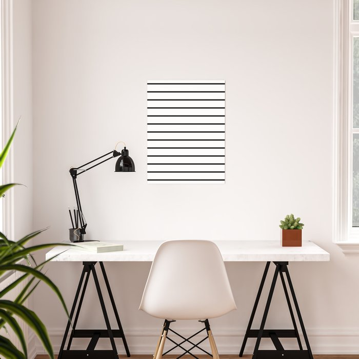 Minimalist Stripes Poster