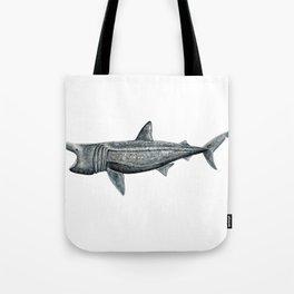 Basking shark (Cetorhinus maximus) Tote Bag