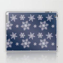 Snowflakes in the night Laptop & iPad Skin