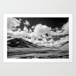 Silk Road Art Print