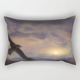 Chase the Morning Rectangular Pillow