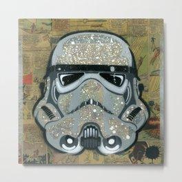 Trooper Silver Metal Print