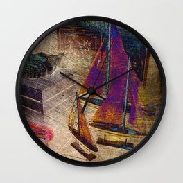 Nautica III Wall Clock