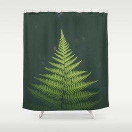 Fern Leaf Green Shower Curtain