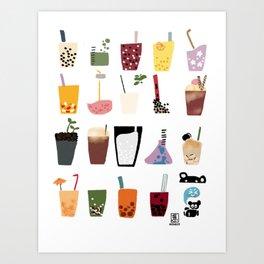 Boba Wall Art Print