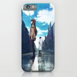 Anime Art - Love Between Dimensions iPhone Case