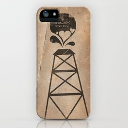 i fracking love you iPhone Case