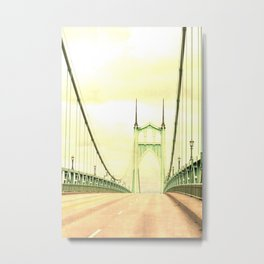 ST JOHNS BRIDGE Metal Print