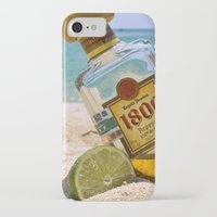 tequila iPhone & iPod Cases featuring Tequila! by Brocoli ArtPrint