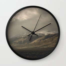 Out the Car Window Wall Clock