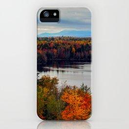 Katahdin Foliage (8) iPhone Case