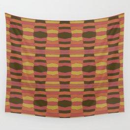 Pakistani Tent (Saffron) Wall Tapestry
