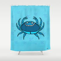 cancer Shower Curtains featuring Cancer by Giuseppe Lentini