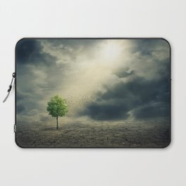 Drought on Earth Laptop Sleeve
