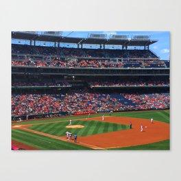 Batter up Canvas Print