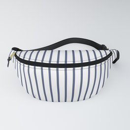 Posey Violet Thin Pinstripe on White Fanny Pack