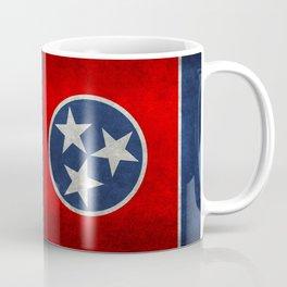 State flag of Tennessee - Vintage retro style Coffee Mug